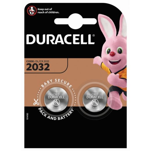 Duracell CR2032 Gombelem, 2 db