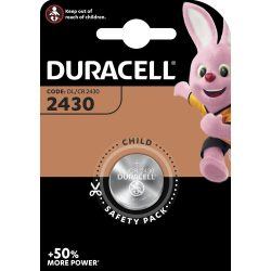 Duracell CR2430 Gombelem