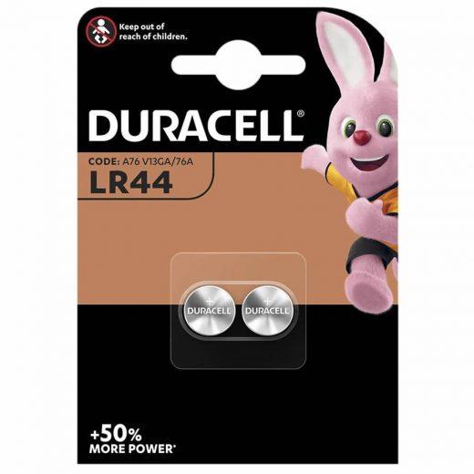 Duracell LR44 Gombelem, 2 db