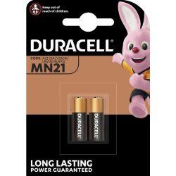Duracell MN21 Alkáli 12V Riasztóelem, 2 db