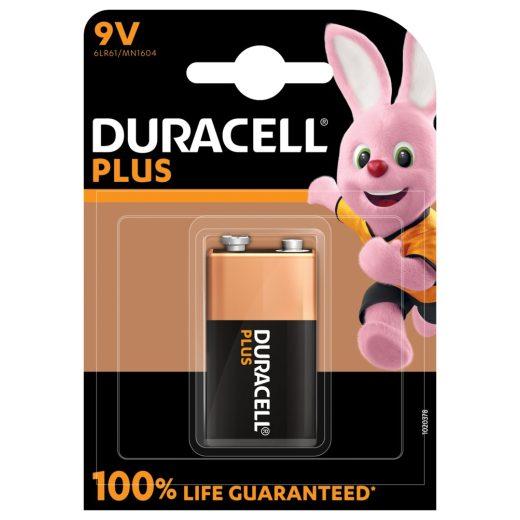 Duracell Plus Alkáli 9V MN1604 Elem