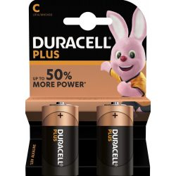 Duracell Plus Power C Baby MN1400 Elem - 2 db