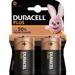 Duracell Plus Alkáli D Góliát MN1300 Elem x 2 db