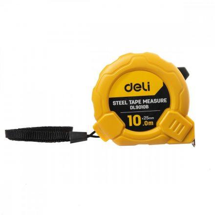 Deli Tools Acél Mérőszalag 10m - 25mm - EDL9010B