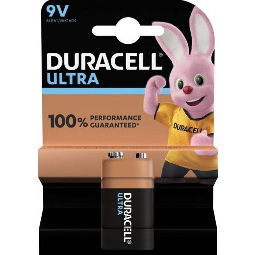 Duracell Ultra 9V MX1604 Alkáli Elem
