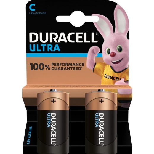Duracell Ultra C Baby LR14 MX1400 Alkáli Elem - 2 db