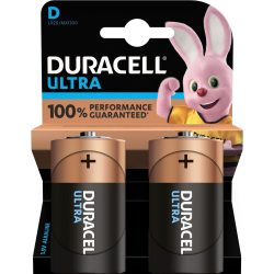 Duracell Ultra D Góliát LR20 MX1300 Alkáli Elem x 2 db