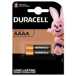 Duracell Ultra AAAA MX2500 Alkáli Elem, 2 db