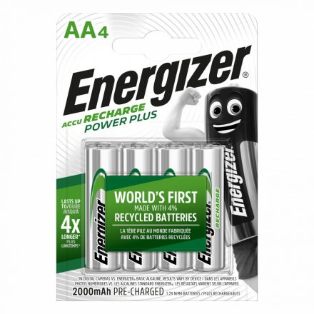 Energizer Power Plus AA 2000 mAh NiMH akkumulátor x 4 db