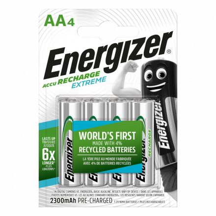 Energizer Akkumulátor Extreme Ceruza AA 2300mAh x 4 db