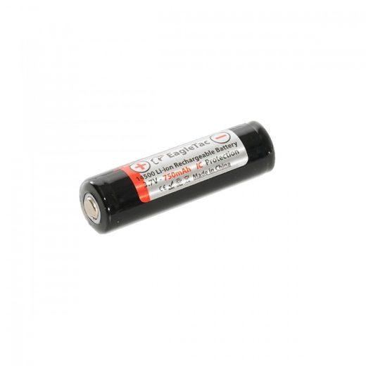 Eagletac 14500 3,7V 750mAh védett akkumulátor