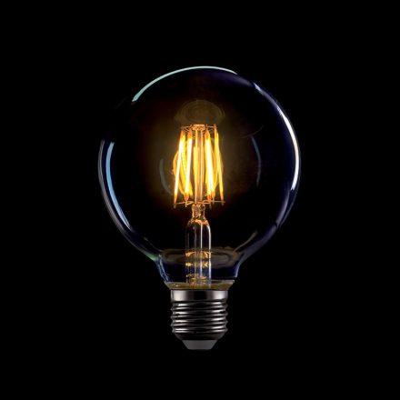 Elmark Vintage E27 8W G95 2800-3200K 720lm LED Arany Búra
