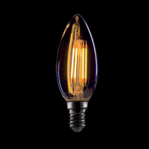 Elmark Vintage E14 4W C35 2800-3200K 360lm LED Arany Búra