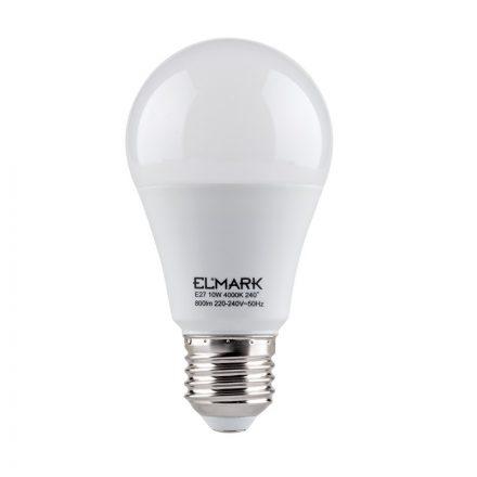 Elmark Pear E27 10W A60 6400K 900lm LED
