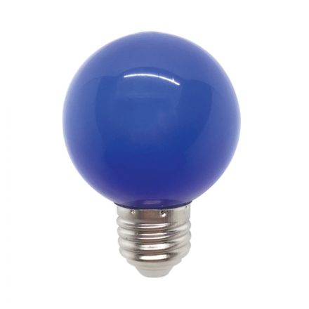 Elmark Globe E27 3W G60 Kék LED
