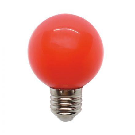 Elmark Globe E27 3W G60 Piros LED