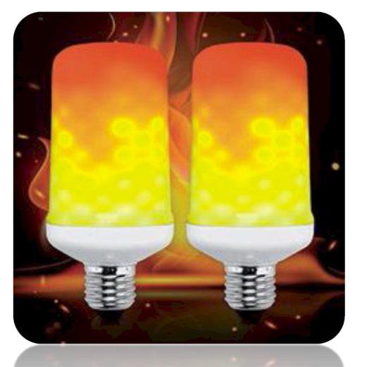 Elmark Flame Lamp E27 1,5-5W A65 1500-1800K 200lm LED