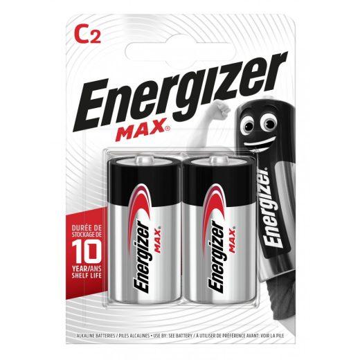 Energizer Max Alkáli C LR14 Baby Elem x 2 db