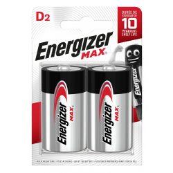 Energizer Max Alkáli D LR20 Góliát Elem x 2 db