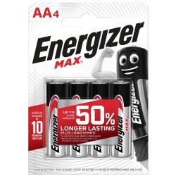 Energizer Max Alkáli AA LR6 Ceruza Elem, 4 db