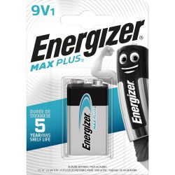 Energizer Max Plus Alkáli 9V Elem