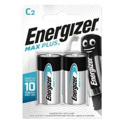 Energizer Max Plus Alkáli C LR14 Baby Elem x 2 db