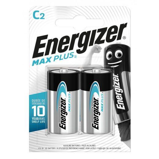 Energizer Max Plus Alkáli C LR14 Baby Elem, 2 db