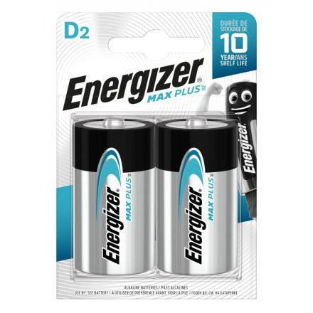 Energizer Max Plus Alkáli D Góliát Elem x 2 db
