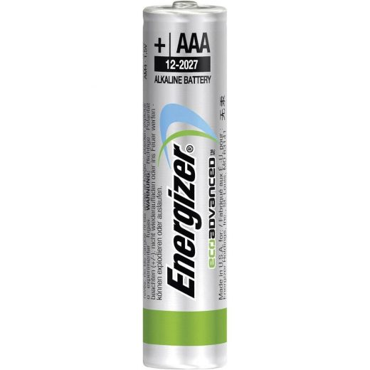 Energizer Eco Advanced AAA Mikro Elem - 4 db