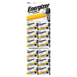 Energizer Alkaline Power AAA LR03 Mikro Elem, 12 db