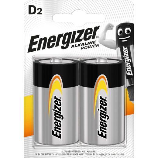 Energizer Alkaline Power D LR20 Góliát Elem, 2 db