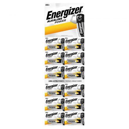 Energizer Alkaline Power AA LR6 Ceruza Elem x 12 db