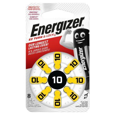 Energizer 10 Hallókészülék Elem x 8 db