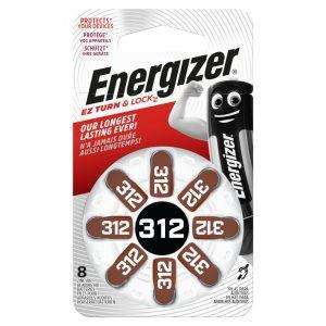 Energizer 312 Hallókészülék Elem x 8 db