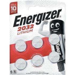 Energizer CR2032 Lithium Gombelem x 6 db