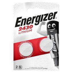 Energizer CR2430 Lithium Gombelem, 2 db