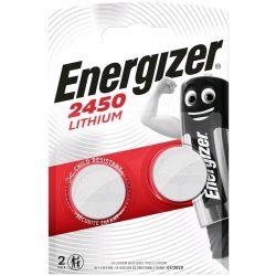 Energizer CR2450 Lithium Gombelem, 2 db