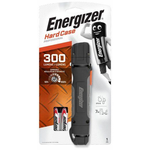 Energizer HardCase Pro 2AA - 300 lm - Elemmel