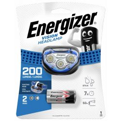 Energizer Vision Fejlámpa - 200 lm - elemmel
