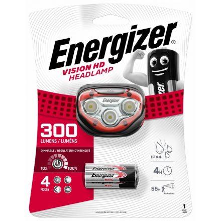 Energizer Vision HD Fejlámpa - 300 lm - elemmel