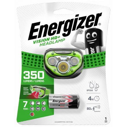 Energizer Vision HD+ Fejlámpa - 350 lm - elemmel