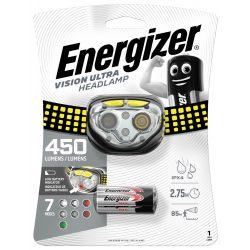 Energizer Vision Ultra Fejlámpa - 400 lm - elemmel