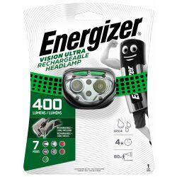 Energizer Vision Ultra Rechargeable Fejlámpa - 400 lm - USB - Akkuval