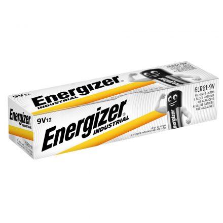 Energizer Industrial 9V 6LR61 Elem x 12 db