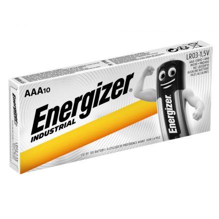 Energizer Industrial AAA LR03 Mikro Elem x 10 db