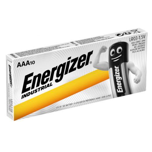 Energizer Industrial AAA LR03 Mikro Elem - 10 db