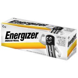 Energizer Industrial C LR14 Baby Elem - 12 db