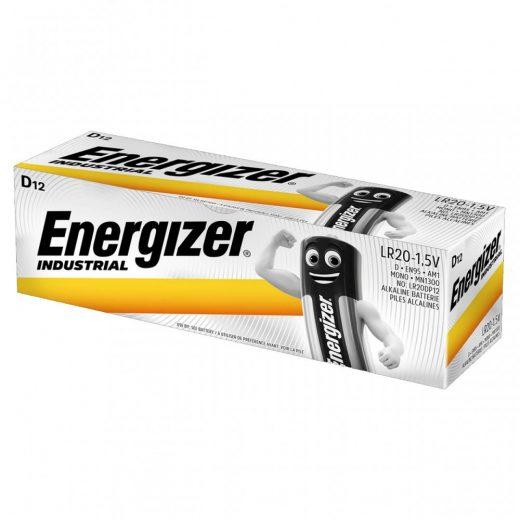 Energizer Industrial D LR20 Góliát Elem - 12 db