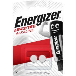 Energizer LR43 AG12 Alkáli Gombelem, 2 db