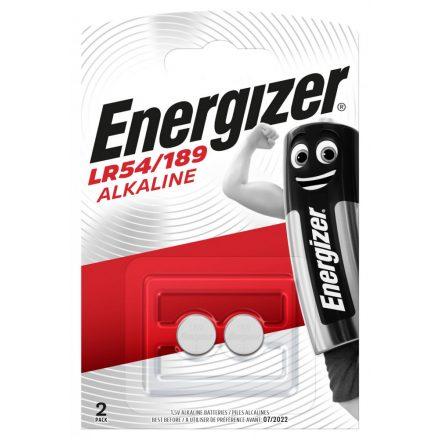 Energizer LR54 AG10 Alkáli Gombelem x 2 db